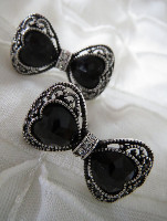 Anting Black Bow kode:AT145